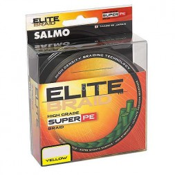 Шнур SALMO Elite Braid 0.28 125м Y